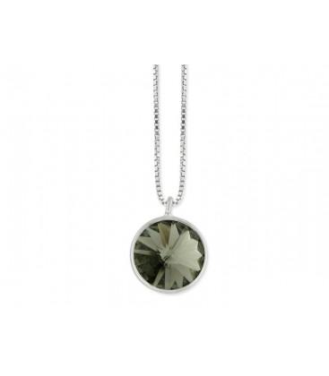 Colgante plata y cristales Swarovski® - LSW3101CL-G