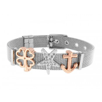 Pulsera moments acero y alloy - LMBR04