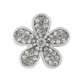 Charm flor alloy y circonitas  - LM37