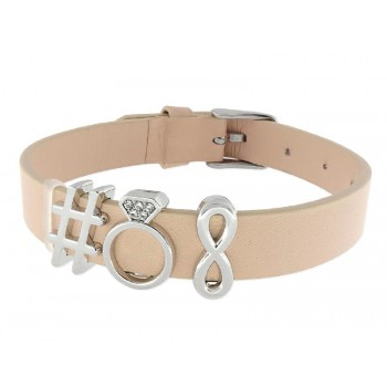 Pulsera moments acero y alloy - LMBR16