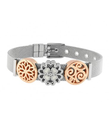Pulsera moments acero y alloy - LMBR24