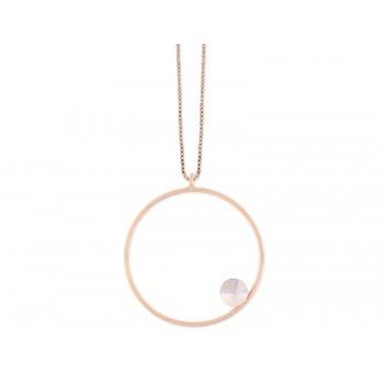 Collar plata y cristales Swarovski® - LSW3134CL-RB