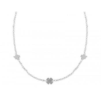 Colgante plata y cicronitas - LAD6027CL