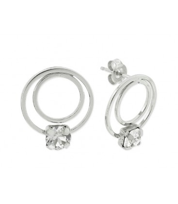 Pendientes plata y cristales Swarovski® - LSW4133A