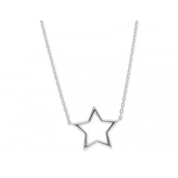 Colgante estrella plata - LAF2094CL