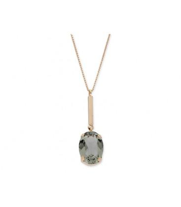 Colgante plata y cristales Swarovski® - LSW4160CL-V