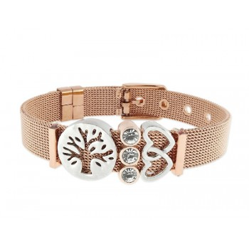 Pulsera moments acero y alloy - LMBR08