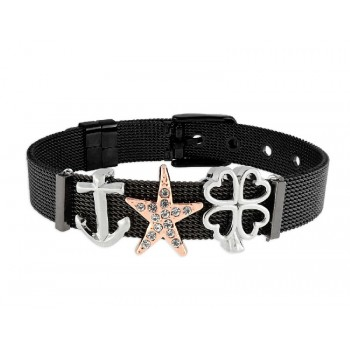 Pulsera moments acero y alloy - LMBR09