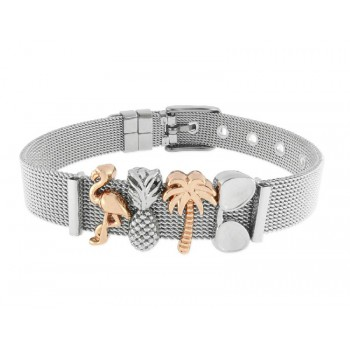 Pulsera moments acero y alloy - LMBR25