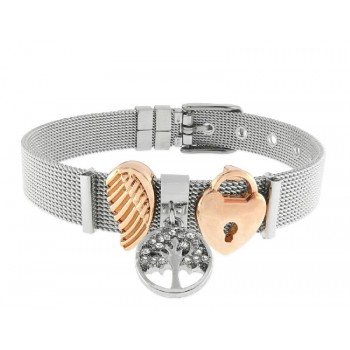 Pulsera moments acero y alloy - LMBR27