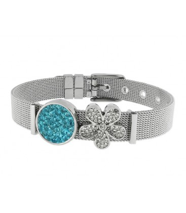 Pulsera moments acero y alloy - LMBR28