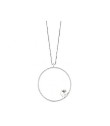 Collar plata y cristales Swarovski® - LSW3134CL-B