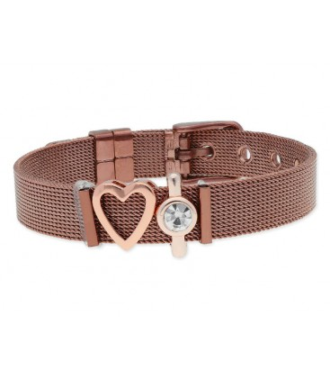 Pulsera moments acero y alloy - LMBR38