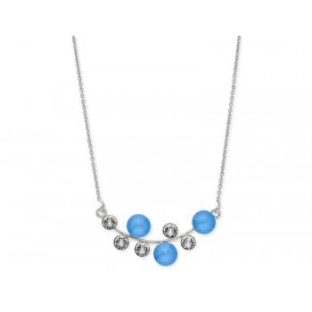 Collar plata y cristales Swarovski® - LSW4176CL-SB
