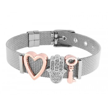 Pulsera moments acero y alloy - LMBR01