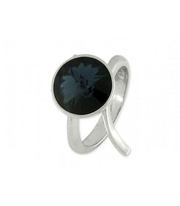 Anillo plata y cristales Swarovski® - LSW014AN-M