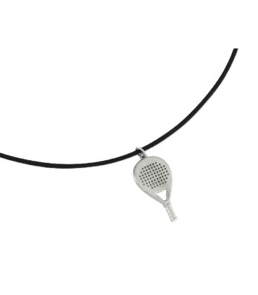 Colgante acero y aloy padel - PDL001CL-N