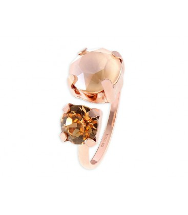 Anillo plata y cristales Swarovski® - LSW2397AN-C