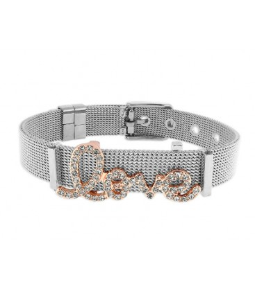 Pulsera moments acero y alloy - LMBR05