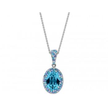 Collar plata y cristales Swarovski® - LSW1140CD