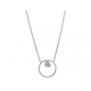 Colgante plata y circonitas - LAF6055CL