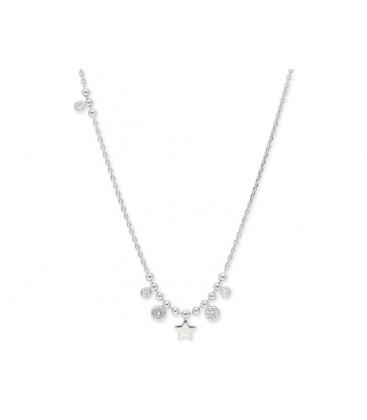 Colgante plata y circonitas - LAF6062CL
