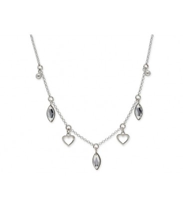 Colgante plata y cristales Swarovski® - LSW0103CL