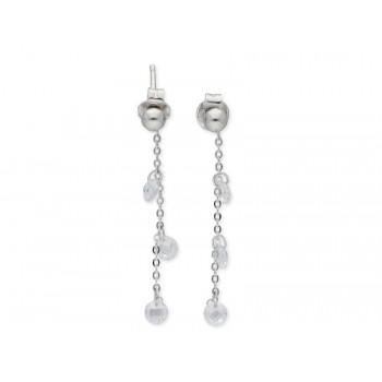 Pendientes plata y circonitas - LAF6126A