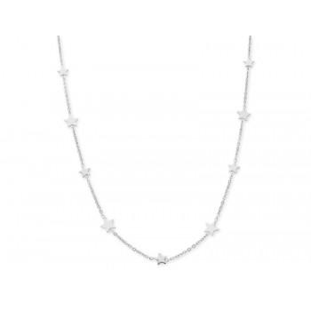 Collar estrellas plata - LAF6130CL