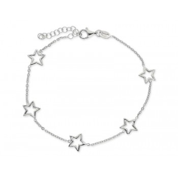 Pulsera estrellas plata - LAF6131BR