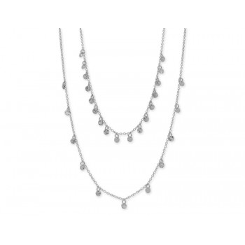 Collar  plata  - LAF6136CL