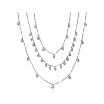 Collar plata - LAF6137CL