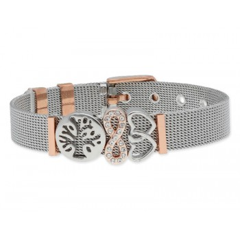 Pulsera moments acero y alloy - LMBR06