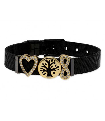 Pulsera moments acero y alloy - LMBR56