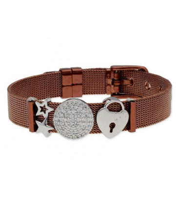 Pulsera moments acero y alloy - LMBR52