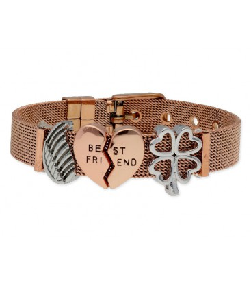Pulsera moments acero y alloy - LMBR51