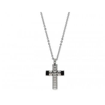 Colgante cruz acero - 845CD1126