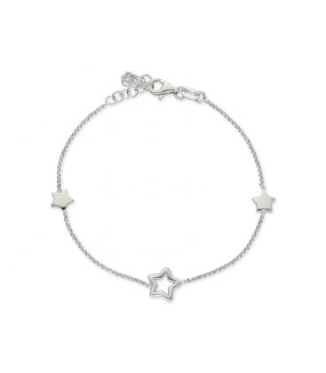 Pulsera estrellas plata - LAF6151BR