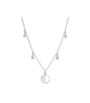 Collar plata y circonitas - LAF6201CL