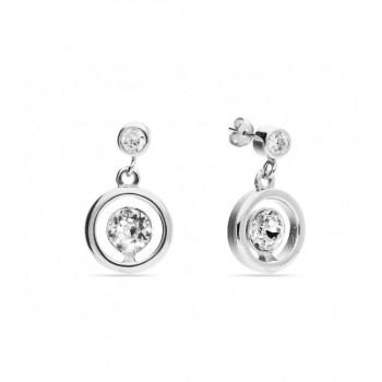 Pendientes plata y cristales Swarovski® - LSW0109A-B