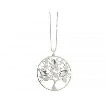 Colgante plata y cristales Swarovski® - LSW4154CL