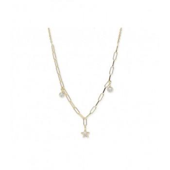 Collar plata y circonitas - LAF6206CL-D