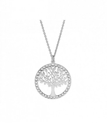 árbol vida 2cm plata y Swa® + cad 5cm - LSW4255CL