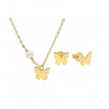 Cto mariposa plata, perla y circ 42+4 - BAM003C-D