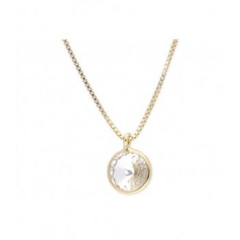 Collar plata y cristales Liska 42cm - LSW2015CL-DB
