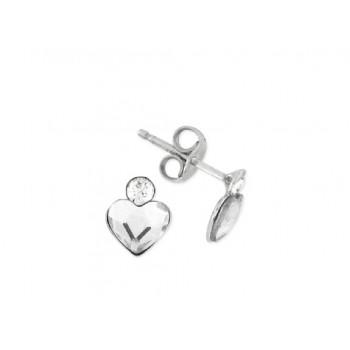 Pendientes plata y cristales Swarovski® - LSW2293A-B
