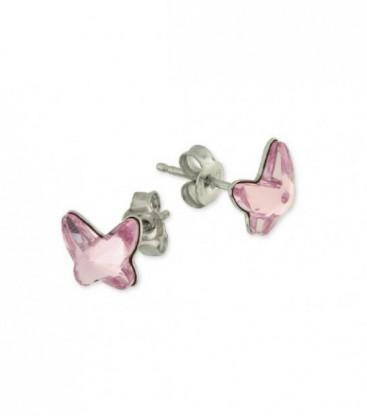 Pendientes plata y swarovski crystals - LSW2212A
