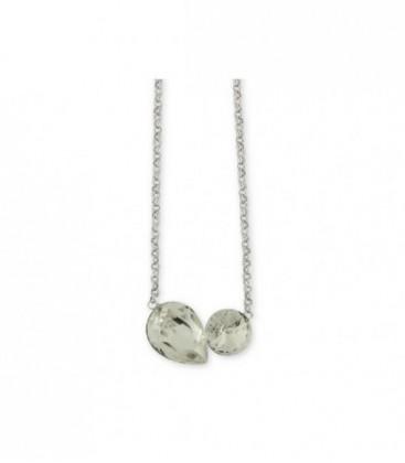 Collar plata y swarovski crystals - LSW2132CL