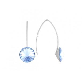 Pendientes plata y cristales Swarovski® - LSW3125A-A