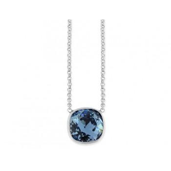 Colgante plata y cristales Swarovski® - LSW4040CL-DB